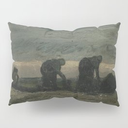 Two Women on the Peat Moor Pillow Sham