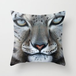 Leopard's Prey Throw Pillow