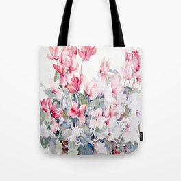 Cyclamen Tote Bag