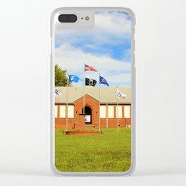 Memorial Museum Clear iPhone Case