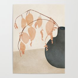 Branches in the Vase Poster