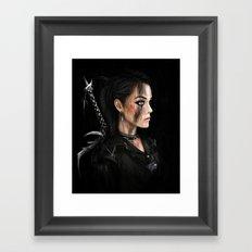Antihero Framed Art Print