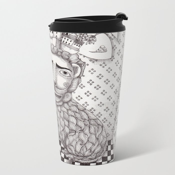 The Lion's Story Hour Metal Travel Mug