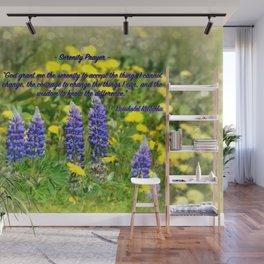 Serenity_Prayer - Spring Flowers Wall Mural