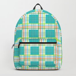 AFE Modern Plaid Pattern Backpack