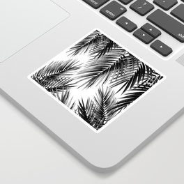 Palm Leaf Jungle Vibes #3 #tropical #decor #art #society6 Sticker