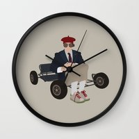 rushmore Wall Clocks featuring rushmore by Live It Up