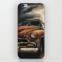 car iPhone & iPod Skins featuring Car by Adrianna Grężak