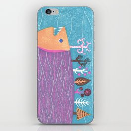 Fish Forest iPhone Skin