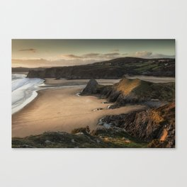 Three Cliffs and The Great Tor Canvas Print