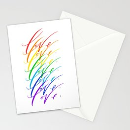 Love is Love! Stationery Cards