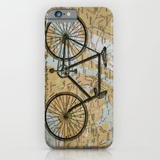 Bike Ride in New York City iPhone 6s Slim Case