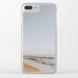 HALF MOON BAY / California Clear iPhone Case