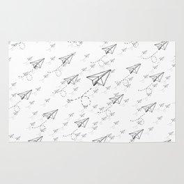 Paper Airplane 9 Rug