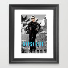 GYPSY LIFE Framed Art Print