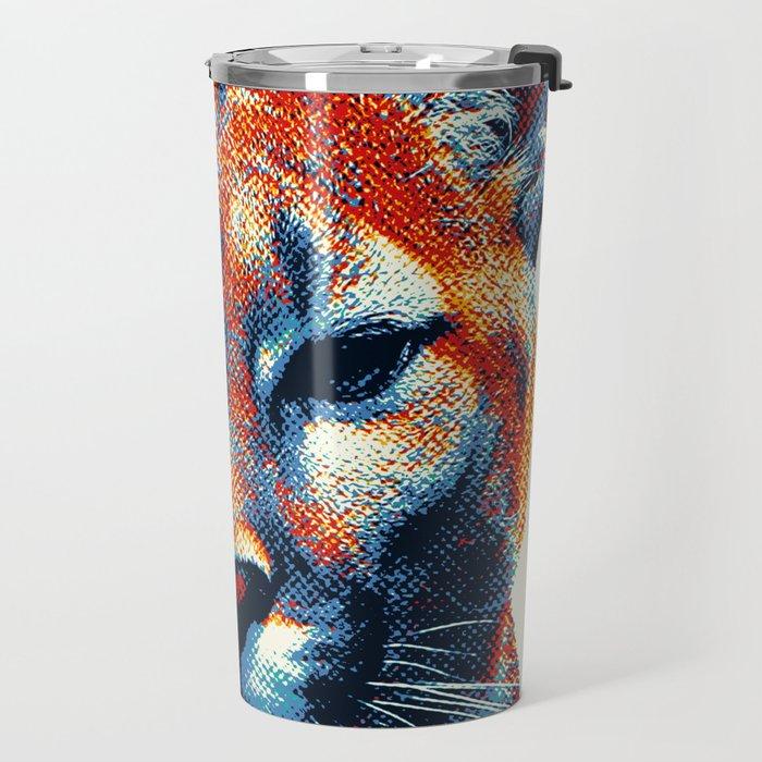 Puma -  Colorful Animals Travel Mug