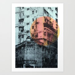 Good Morning Hong Kong Art Print