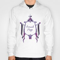 asexual Hoodies featuring Asexual Mage by armouredescort