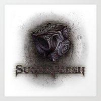 Sugarflesh Art Print