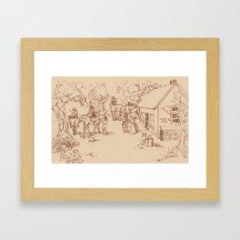 Albany Framed Art Print