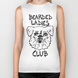 Bearded Ladies Club Biker Tank
