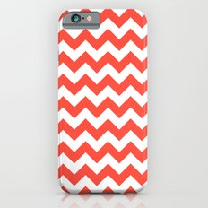 Red Chevron Slim Case iPhone 6s