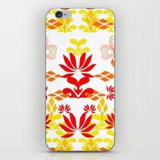 YELLOW RED iPhone & iPod Skin