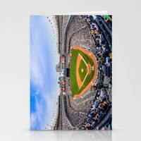 yankees Stationery Cards featuring New York Yankees - Color by Bust it Away Photography