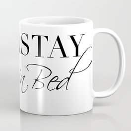 namastay in bed Coffee Mug