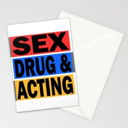 Is acting one of your addiction? Grab this addictive tee for you! Makes a naughty gift this holiday! Stationery Cards