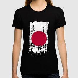 JP JPN Japan Flag T-shirt