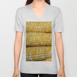 Stack of Corn Cobs Unisex V-Neck