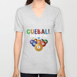 Cueball can do it all Unisex V-Neck
