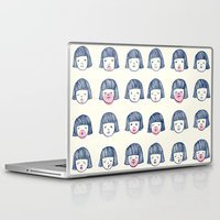 bubble Laptop & iPad Skins featuring Bubble bubble bubble gum by Young Ju