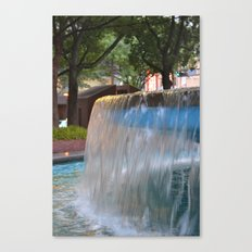 City Fountain Canvas Print