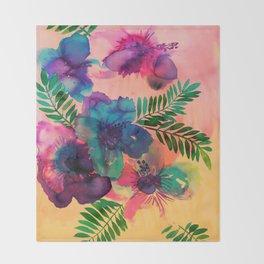 Skye Floral Throw Blanket