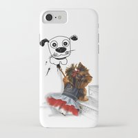 terrier iPhone & iPod Cases featuring terrier by albertovna87