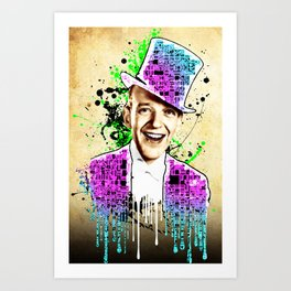 Fred Astaire, new steps.  Art Print