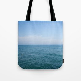 Floating to Blue Tote Bag