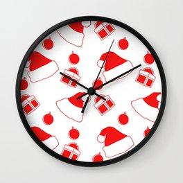 New Year's cap Wall Clock