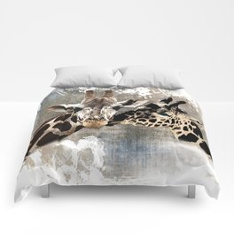 Snuggle Bug Giraffes Comforters