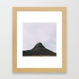 Kirkjufell Mountain Framed Art Print