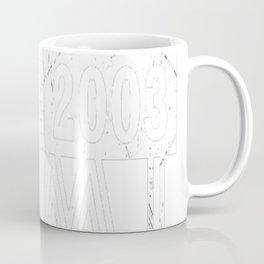 Twins-Since-2003---14th-Birthday-Gifts Coffee Mug