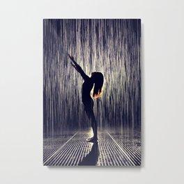 Oh baby it's raining Metal Print