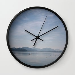 Seagulls on Koycegiz Lake Wall Clock