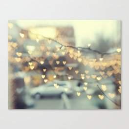 Holding on to Love Canvas Print