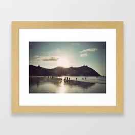 San Sebastian Framed Art Print