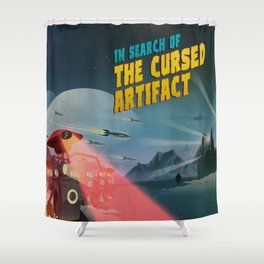 In Search of the Cursed Artifact Shower Curtain