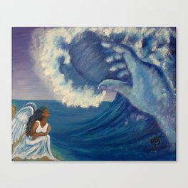Humbled Under The Mighty Hand of GOD Canvas Print