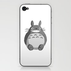 I Love Totoro iPhone & iPod Skin